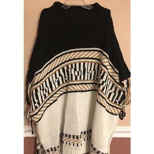 TIPSY GYPSY CLOTHING, MAPLE PONCHO